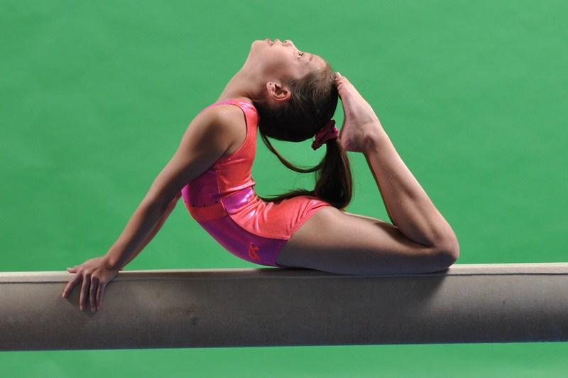 photos of single girls gymnastics № 151013